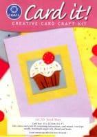 Coats and Card It Craft Kit - Iced Bun